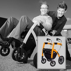 Your life is always moving- and so is the Rollz Motion. This combination transport wheelchair and rollator walker features European design and versatility. Perfect for travel and use around town. Never stop moving. The Rollz and all accessories are available now at Ease Living.