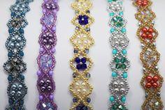 Deb Roberti's Byzantium Band Bracelets