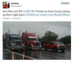 Truckin' a message!