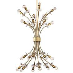 Hudson Valley Lighting 2724 Alexandria 24 Light Chandelier Aged Brass Indoor Lighting Chandeliers