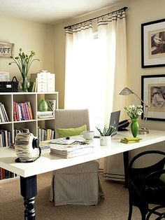 19 Home Office Solutions: Organize Yourself with Decorating and Storage Ideas