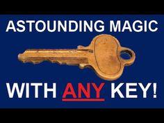 DO AMAZING MAGIC TRICK WITH ANY KEY - SECRET REVEALED! - YouTube