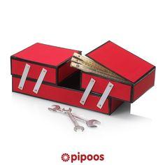 Sinterklaas surprise voor 5 december. Maak deze handige gereedschapskist voor een echte klusser.