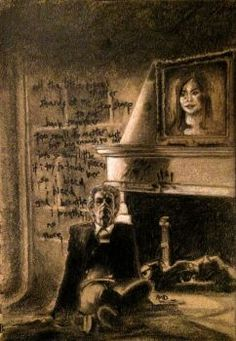 I had already grown to love Capaldi's Doctor, but Heaven Sent really cemented my respect for him. The Doctor's and Clara's faces in this drawing, howeve. Breathe No Doctor Who Series 8, Doctor Shows, New Doctor Who, Doctor Who Fan Art, Twelfth Doctor, Heaven Sent, Tardis, Beautiful Artwork, Make Me Smile