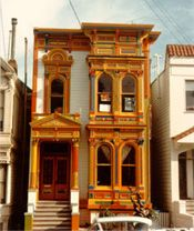 Photograph of Victorian home at 908 Steiner