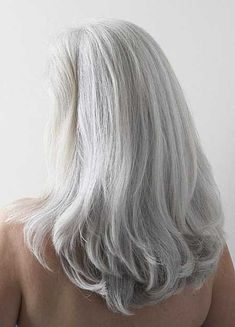 22. Haircut for Gray Hair