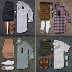 Recap over the last couple weeks! Which is your favorite ❓❔ —————————————— For more ➡ @stylesofman + stylesofman.com —————————————— #stylesofman #mensfashion #mensstyle #lookbook #inspiration #malefashionadvice #malefashion #outfit #guyfashion #clothes #flatlays #flaylaystyle #outfitgrids #style #flatlay #outfitgrid #outfit #ootd #fashionblogger #blogger #sneakers #shoes #fashion #gq #flatlayoftheday #boots