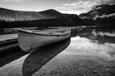 Lonely Canoe Photo by Mark Kirby -- National Geographic Your Shot
