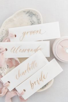 Calligraphy escort cards place cards name cards wedding calligraphy Star Wedding, Trendy Wedding, Diy Wedding, Wedding Beach, Nautical Wedding, Wedding Blog, Wedding Favors, Wedding Reception, Wedding Photos