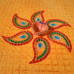 Kundan Rangoli - Online Shopping for Decoratives by Dipti Art & Craft