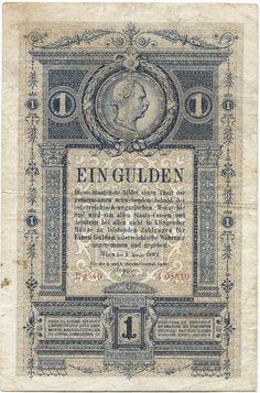 1 Gulden 1882 (Medaillon von Kaiser Franz Joseph I)