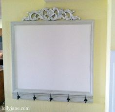 dry erase command station tutorial (so cute)
