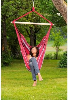 Browse all products in the Hanging chairs category from Baby gear and hammocks. Hammock Chair Stand, Hanging Hammock Chair, Swinging Chair, Hanging Chairs, Outdoor Furniture, Outdoor Decor, Bold Colors, Image, Collections