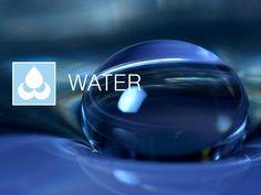 WATER Elements Of Design, Water, Creative, Design Elements, Gripe Water