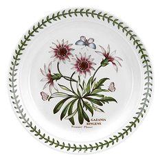 Buy Portmeirion Botanic Garden Tree Flower Plate, Dia.20cm, Seconds Online at johnlewis.com