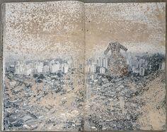 """Anselm Kiefer, """"Liliths Töchter"""", 1998, collection particulière"""