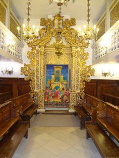 Conegliano synagogue, in the Jerusalem Italian shul/ U. Nahon Museum of Italian Jewish Art
