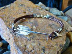 Arrow Bracelet by AngeliasCreations on Etsy, $9.99