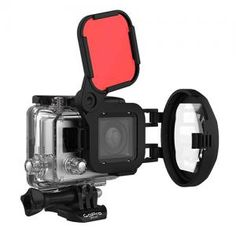 Guide to the Best GoPro Filters for the Hero4, Hero3+ and Hero 3 cameras for Underwater Video while Scuba Diving and Freediving.