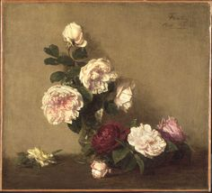 Philadelphia Museum of Art - Collections Object : Still Life with Roses of Dijon