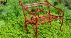 Top 14 Miniature Garden Bench Ideas