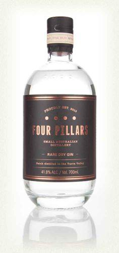 keep your Hendricks with 'cucumber essence', I'm drinking Four Pillars Rare Dry Gin