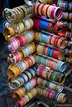 indian bangles remind me of my nana and cousins.