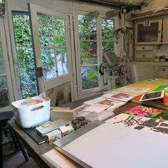 Atelier de Dale Rowe / Quartier Villiers Barbussre / Sept 2014
