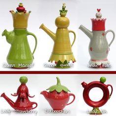 Keramik-Service: ... tea-time