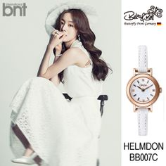 "www.bekanbell.com - [singer / 한선화. bnt pictorial]. Elegant and Feminine timepieces from Germany ""Butterfly on your wrist"" #watch #germany #bekanbell #celebrity #fashion #pictorial"