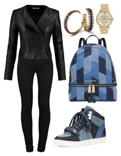 """Untitled #1530"" by cecilia-rebecca-stagrum-buch on Polyvore featuring Michael Kors, MICHAEL Michael Kors, J Brand and Erickson Beamon"