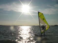 A sunset beginners windsurfing lesson with Poole Harbour all to ourselves.  Learning how to windsurf doesn't get any better than this! #poolewindsurfing #windsurfinglessons #pooleharbour