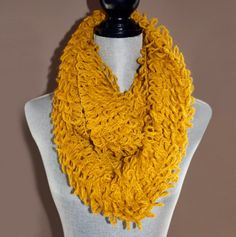Textured Infinity Scarf- I have in black, yellow, pink and white but Michael Kors. I want this one as well.