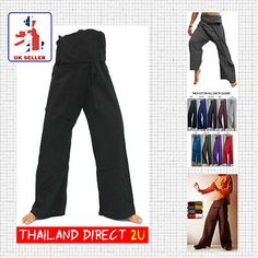 Thai fisherman pants/trousers, #cotton  *yoga* #martial #arts*tai chi*  - 4 colou,  View more on the LINK: http://www.zeppy.io/product/gb/2/331773964079/