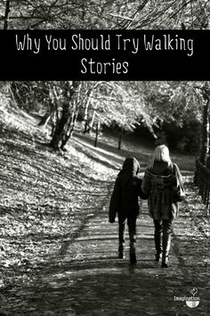 family walks + storytelling = walking stories
