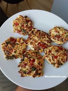 FIT chicken fritters with vegetables and cheese - Mocne Kalorie - Przepisy - Makaron Fritters, I Foods, Chicken Recipes, Clean Eating, Good Food, Dinner Recipes, Food And Drink, Low Carb, Healthy Recipes
