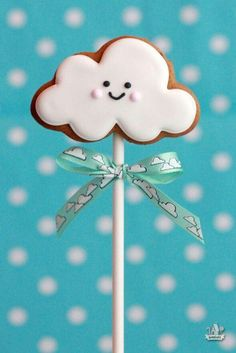 Serena would love a cloud cookie.