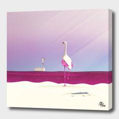 Flamingo Fatale by Schwebewesen