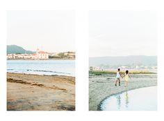 Salomé e Linhos Engagement Session  Fotografado com Nikon F100 - Film: Portra 400 Scans: Retina Analog Film Lab