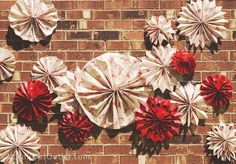 party ideas lobster crawfish boil how to photo-booth paper fans tutorial diy decorations