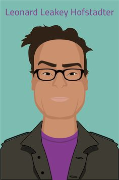 Some illustrations of the Big bang theory characters I've made in my spare time.