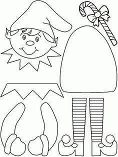 printable christmas templates crafts - Αναζήτηση G - St Valentin Fleurs Printable Christmas Templates, Christmas Printables, Christmas Colors, Christmas Art, Christmas Decorations, Kids Christmas Coloring Pages, Christmas Classroom Door, Christmas Applique, Kindergarten Crafts