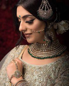Stunning Bridal Makeover   PC @monasangha @gstills_photography   #bridalmakeup #bridalmakeover #bridemakeup #makeup #makeupartist… Indian Bridal Photos, Indian Bridal Makeup, Bridal Makeover, Bridal Poses, Bride Makeup, Bridal Photography, Beautiful Bride, Bridal Jewelry, Glamour