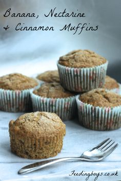 27 thrifty autumn recipes: Credit Crunch Munch round up - Maison Cupcake Cinnamon Banana Bread, Cinnamon Muffins, Fall Recipes, Delicious Recipes, Bread Bun, Oven Baked, Recipe Of The Day, Coffee Cake, Frugal