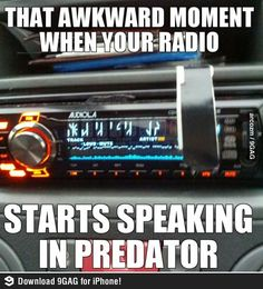 Quite s**tty radio, I know.