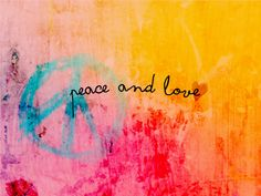 Wallpaper Peace and Love by iqitutoriales.deviantart.com on @DeviantArt