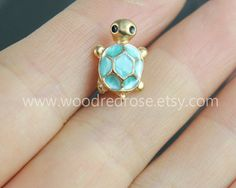 Tiny Blue Turtle Tragus Earring JewelryTiny Black by woodredrose Face Jewellery, Ear Jewelry, Cute Jewelry, Boho Jewelry, Jewelery, Jewelry Accessories, Tragus Piercing Jewelry, Tragus Piercings, Cartilage Earrings