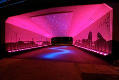 Bigg Design Transforms a Drab Scottish Underpass With Dazzling LED Lights! | Inhabitat - Sustainable Design Innovation, Eco Architecture, Green Building