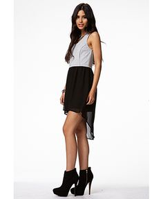 Heathered Combo Dress | FOREVER 21 - 2049204595