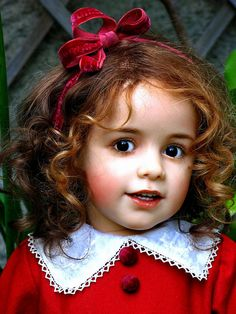 This is a doll the artist is talented!*SISSEL SKILLE OOAK DOLL